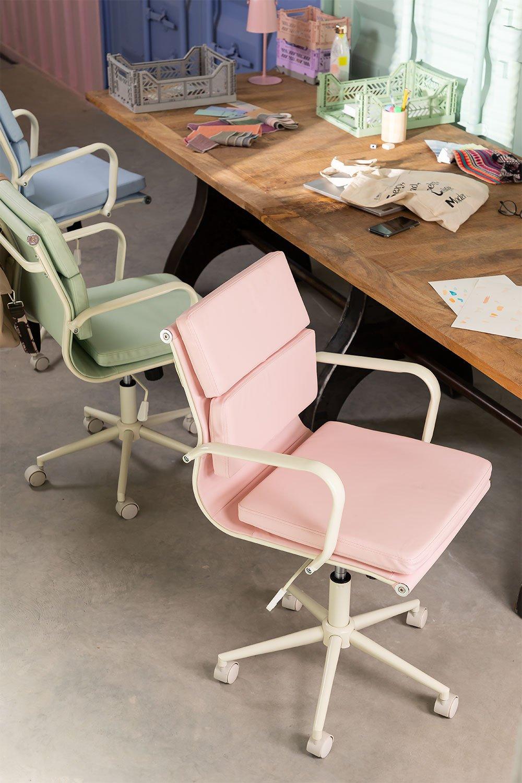 Bürostuhl auf Rädern Fhöt Farben , Galeriebild 1
