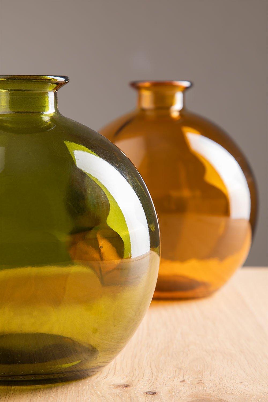 Vase aus recyceltem Glas Kimma, Galeriebild 1