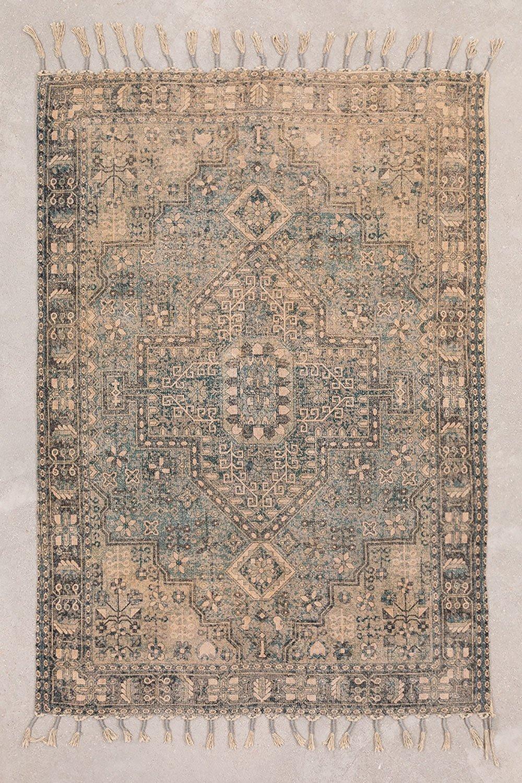Baumwoll-Chenille-Teppich (185x127 cm) Eli, Galeriebild 1