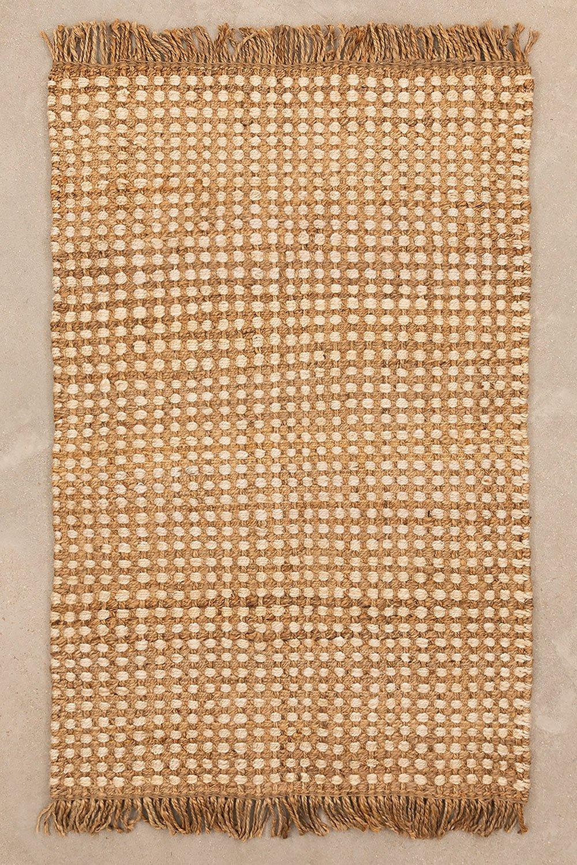 Jute-Teppich (188x122 cm) Kolin, Galeriebild 1