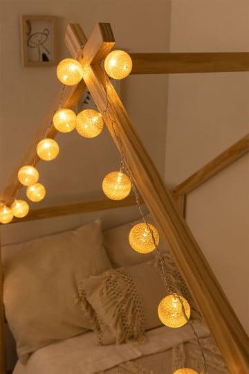 Natürliche LED-Lichterketten Adda