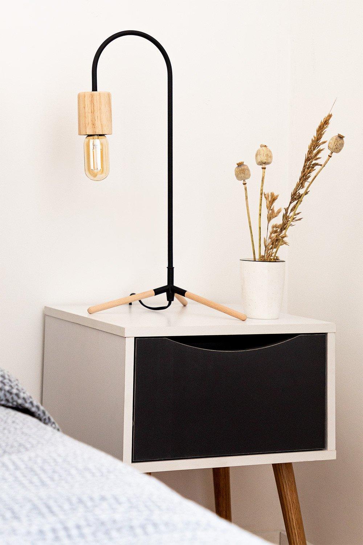 Nachttisch aus Holz Babi  , Galeriebild 1