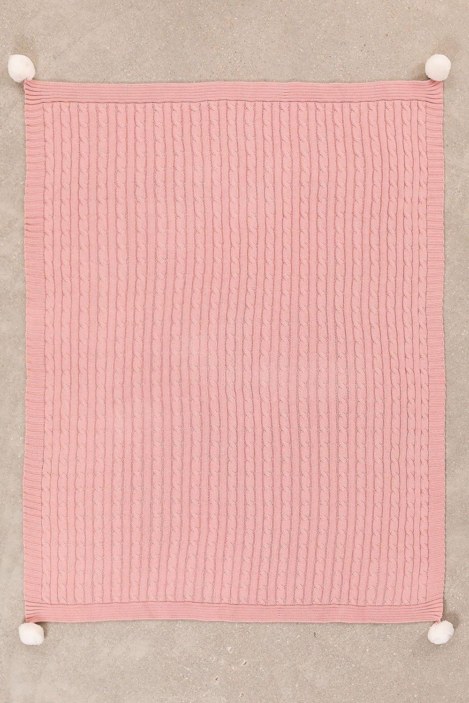 Decke Swaddle Benys Kids aus geflochtener Baumwolle, Galeriebild 1
