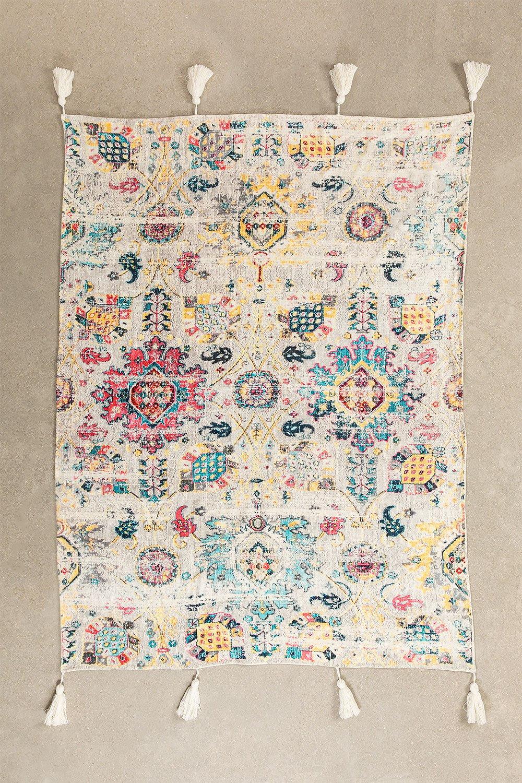 Karierte Decke aus Baumwolle Tario, Galeriebild 872721