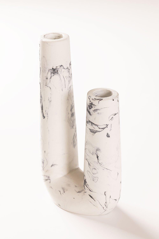Kerzenhalter in Naia Cement, Galeriebild 1