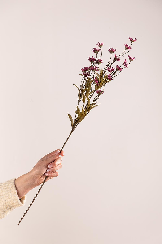 Packung mit 2 künstlichen Zweigen Gänseblümchen, Galeriebild 1