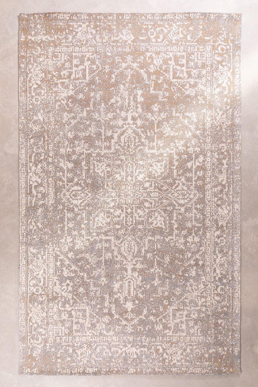 Baumwoll-Chenille-Teppich (298x180 cm) Busra, Galeriebild 1