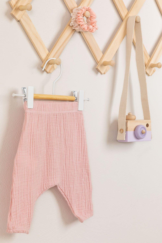 Set mit 2 Kleiderbügeln mit Clip Corin Kids, Galeriebild 1