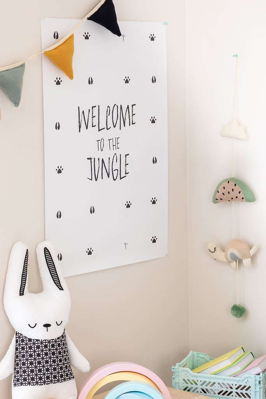 Dekorative Klinge (50x70 cm) Jungle Kids, Galeriebild 1