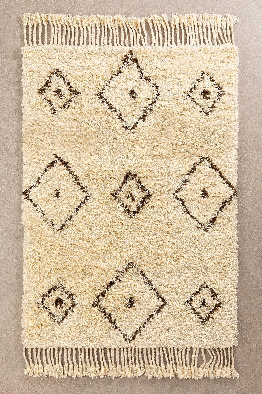 Teppich aus Baumwolle und Wolle (215 x 125 cm) Ariana, Galeriebild 1