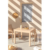 Mesa Extensible de Jardín en Aluminio (90-180x90 cm) Starmi, imagen miniatura 1