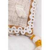 Funda Cojín Rectangular en Algodón (35x60 cm) Hari, imagen miniatura 3