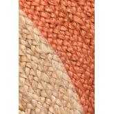 Alfombra en Yute Natural Redonda Dagna Colors, imagen miniatura 3
