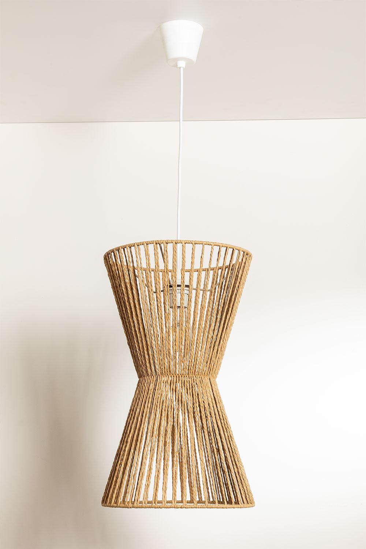 Lámpara de Techo en Papel Trenzado Kette, imagen de galería 1