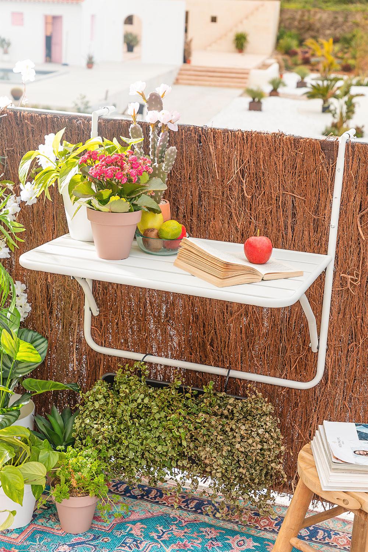 Mesa de Jardín Colgante y Plegable Janti, imagen de galería 1