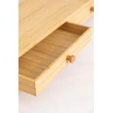 Soporte para Monitor con Cajones en Bambú Greg, imagen miniatura 5
