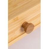 Soporte para Monitor con Cajones en Bambú Greg, imagen miniatura 6
