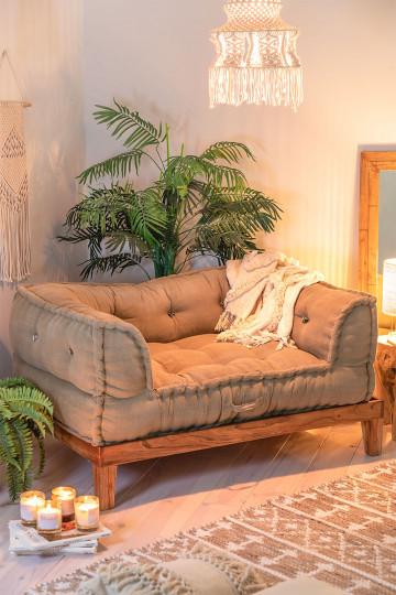 Sofá Modular en Algodón Dhel
