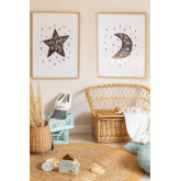 Set de 2 Láminas Decorativas (50x70 cm) Astro Kids, imagen miniatura 1