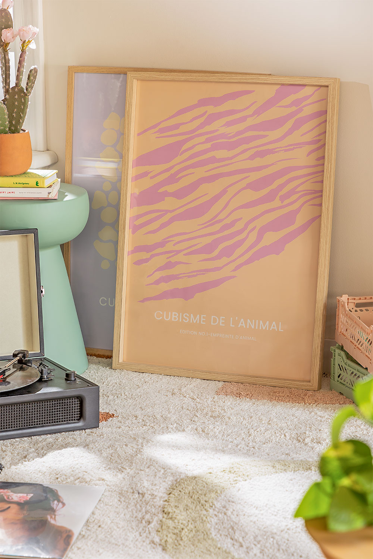 Lámina Decorativa (50x70 cm) Cubisme, imagen de galería 1