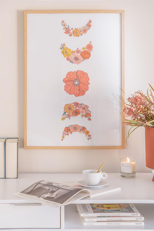 Lámina Decorativa (50x70 cm) Aster, imagen de galería 1