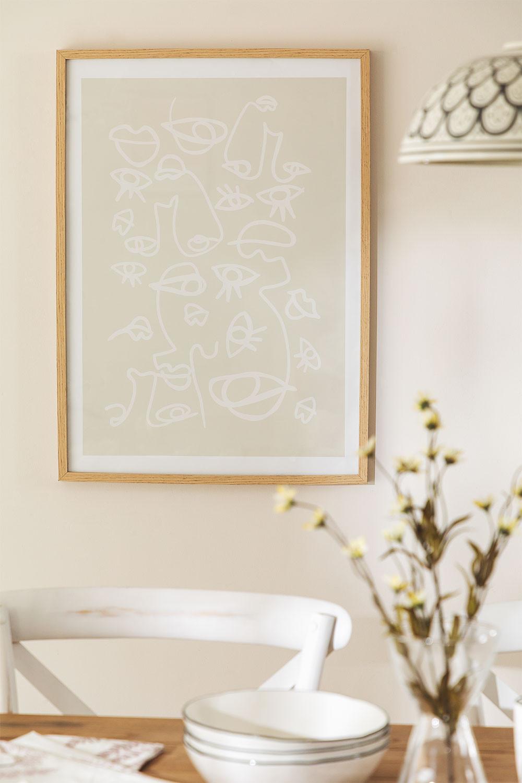 Lámina Decorativa (50x70 cm) Steyn, imagen de galería 1