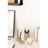 Organizador de Mesa en Cemento Taila, imagen miniatura 1