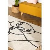 Alfombra en Algodón (198x124 cm) Fäsy , imagen miniatura 1