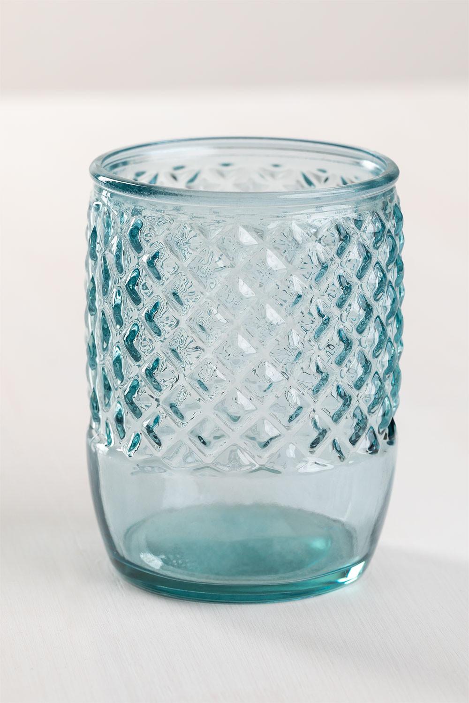 Vaso en Vidrio Reciclado Anett, imagen de galería 1