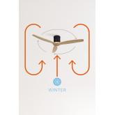 WINDCALM DC - Ventilador Techo Función Invierno - Verano Ultrasilencioso - Create, imagen miniatura 6