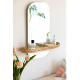 Espejo de Pared con Estante Tegri, imagen miniatura 1