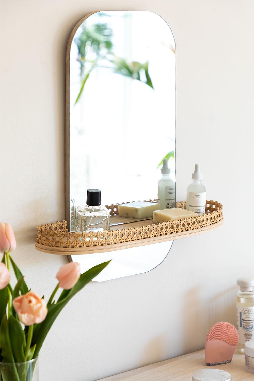 Espejo de Pared con Estante Tegri, imagen de galería 1