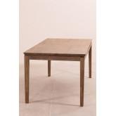 Mesa de Comedor Extensible en Madera (180-230x90 cm) Zale, imagen miniatura 4