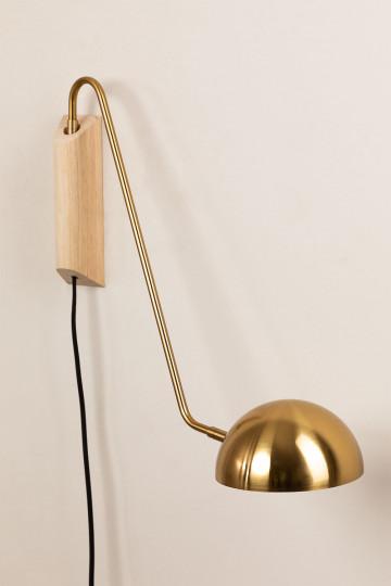 Lámpara de Pared Ercsi Metalizada