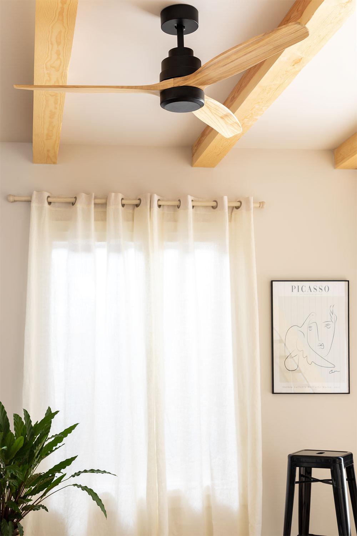 WINDSTYLANCE DC BLACK - Ventilador de techo, imagen de galería 1