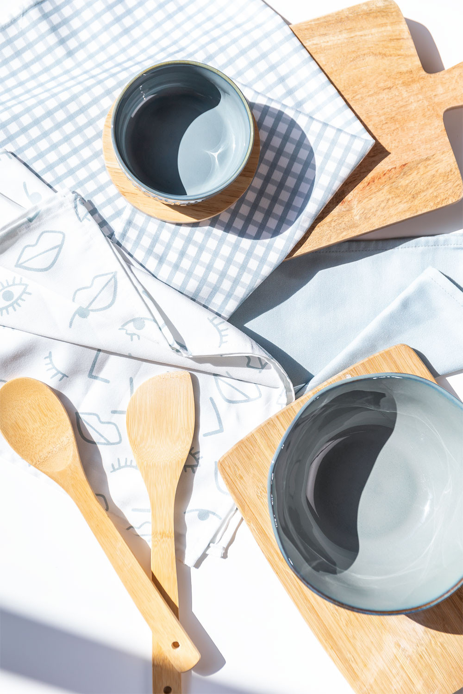 Pack de 3 Paños de Cocina en Algodón Onam, imagen de galería 1
