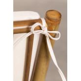 Mecedora en Bambú Livia, imagen miniatura 6