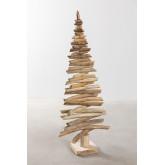 Árbol de Navidad en Madera de Teca Jingle, imagen miniatura 2