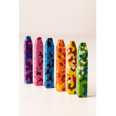 Ceras de Colores (6uds) Konfeti Kids, imagen miniatura 2
