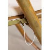 Set de Mesa Auxiliar y 2 Sillas Plegables en Bambú Katalyn, imagen miniatura 6
