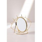Espejo de Mesa en Metal Lubin, imagen miniatura 2
