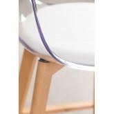 Taburete Alto Nordic Transparente, imagen miniatura 5