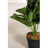 Planta Artificial Decorativa Monstera, imagen miniatura 3