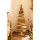Árbol de Navidad en Madera de Teca Jingle, imagen miniatura 1