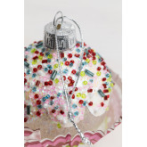 Adorno de Navidad Muffin, imagen miniatura 3