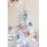 Set de 6 Adornos de Navidad Eyes, imagen miniatura 1