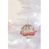 Adorno de Navidad Muffin, imagen miniatura 1