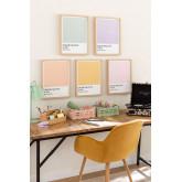 Lámina Decorativa (30x40 cm) Color Palette, imagen miniatura 3