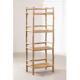 Estantería 4 baldas en Bambú Ruols, imagen miniatura 2