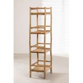Estantería 4 baldas en Bambú Ruols, imagen miniatura 3